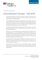 Central Eastern Europe - February 2016 cover image