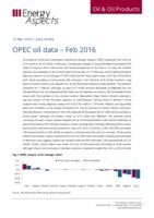 OPEC oil data - Feb 2016 cover image