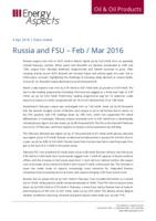 Russia and FSU - Feb / Mar 2016 cover image