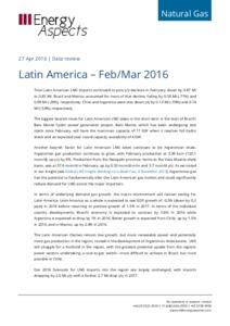 Latin America gas data - Feb/Mar 2016 (corrected) cover image