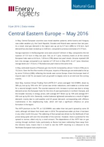 Central Eastern Europe - May 2016 cover image
