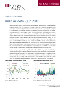 India oil data - Jun 2016 cover image