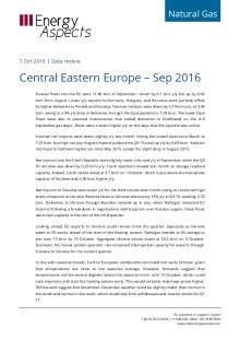 Central Eastern Europe – Sep 2016 cover image