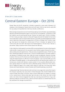 Central Eastern Europe – Oct 2016 cover image