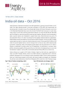 India oil data – Oct 2016 cover image