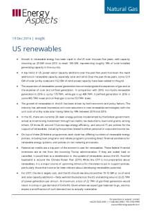 US renewables cover image