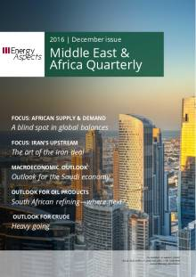 2016-12 Oil - Middle East & Africa Quarterly cover