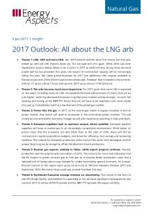 2017 Outlook: All about the LNG arb cover image