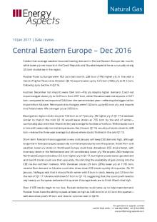 Central Eastern Europe – Dec 2016 cover image