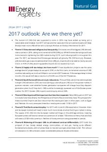 2017 outlook: Are we there yet? cover image