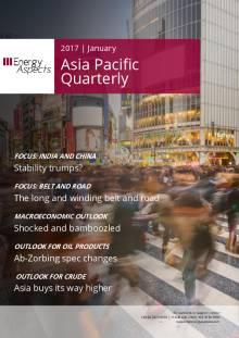 2017-01 Oil - Asia Pacific Quarterly cover