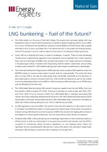 LNG bunkering – fuel of the future? cover image