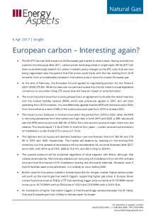 European carbon – Interesting again? cover image