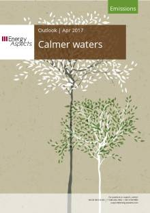 2017-04 Emissions - Outlook - Calmer waters cover