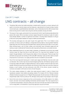 LNG contracts – all change cover image