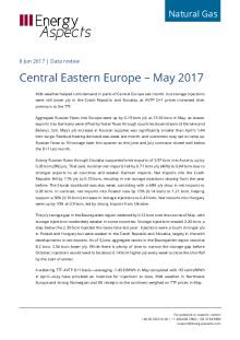 Central Eastern Europe – May 2017 cover image