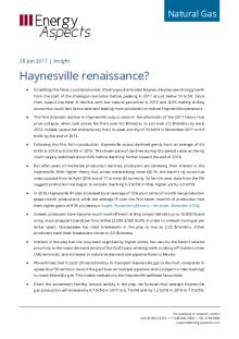 Haynesville renaissance? cover image