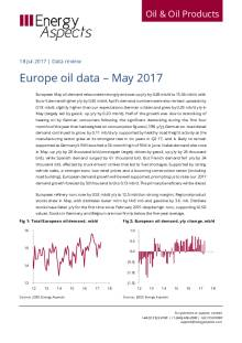 Europe oil data – May 2017 cover image