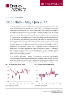 UK oil data – May / Jun 2017 cover image