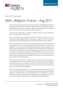 Neth., Belgium, France – Aug 2017 cover image