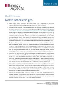 2017-09-06 Natural Gas - North America - North American gas cover