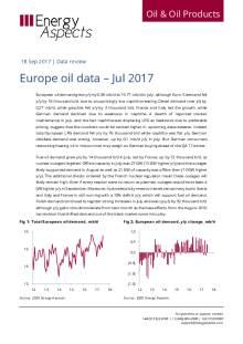 Europe oil data – Jul 2017 cover image