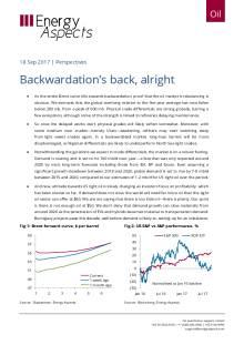 Backwardation's back, alright cover image