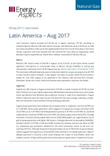 Latin America – Aug 2017 cover image