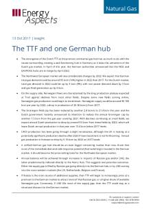 The TTF and one German hub cover image