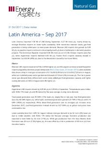 Latin America – Sep 2017 cover image