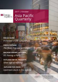 2017-10 Oil - Asia Pacific Quarterly cover