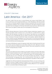 Latin America – Oct 2017 cover image
