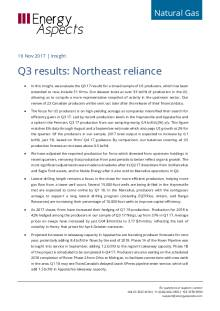 Q3 results: Northeast reliance cover image