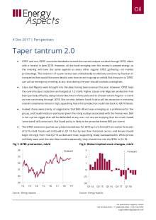 2017-12-04 Oil - Perspectives - Taper tantrum 2.0 cover