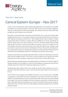 2017-12-07 Natural Gas - Central Eastern Europe – Nov 2017 cover