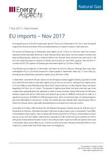 EU imports – Nov 2017 cover image
