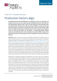 Canada - Production factors align cover image