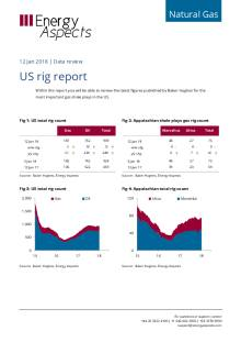 2018-01-12 Natural Gas - North America - US rig report cover