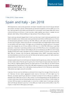 Spain and Italy – Jan 2018 cover image
