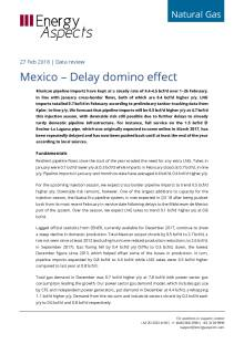 Mexico – Delay domino effect cover image