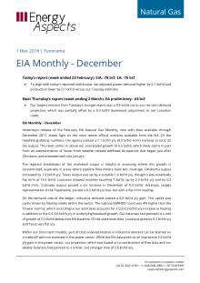 EIA Monthly - December cover image