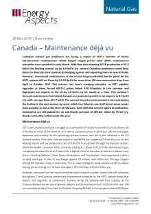 Canada – Maintenance déjà vu cover image