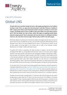 Global LNG cover image