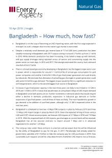 Bangladesh – How much, how fast? cover image