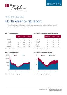 2018-05-11 Natural Gas - North America - North America rig report cover
