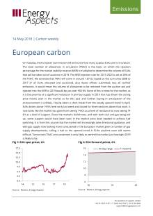 2018-05-14 Emissions - Carbon weekly - European carbon cover