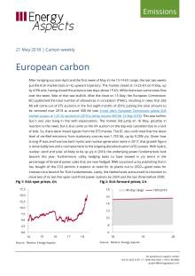 2018-05-21 Emissions - Carbon weekly - European carbon cover