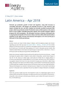 Latin America – Apr 2018 cover image