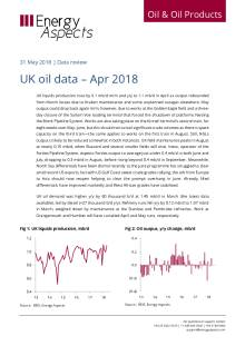 UK oil data – Apr 2018 cover image