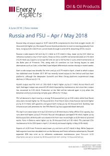 Russia and FSU – Apr / May 2018 cover image